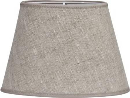 Lampeskjerm oval 30 cm lin