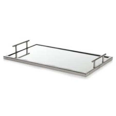 Lys/serveringsfat m speil