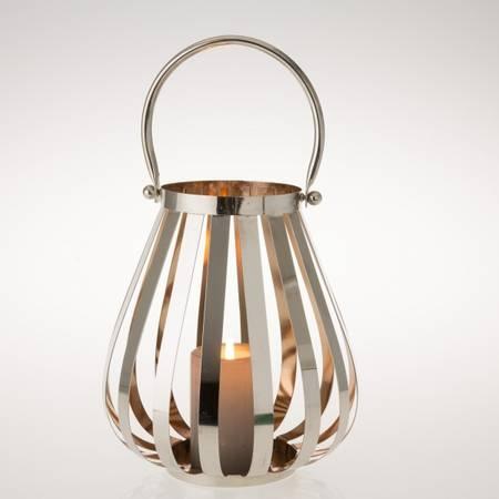 Lanterne antik nikkel